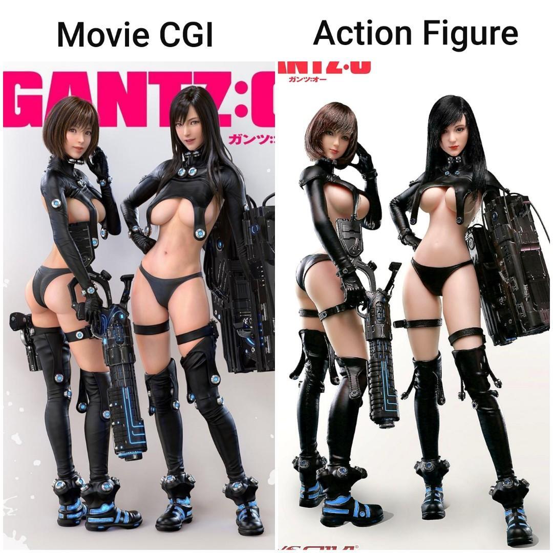 TOYSEIIKI Gantz:o 1//6th Scale TS02 Seamless Reika Action Figure Model Doll Toy
