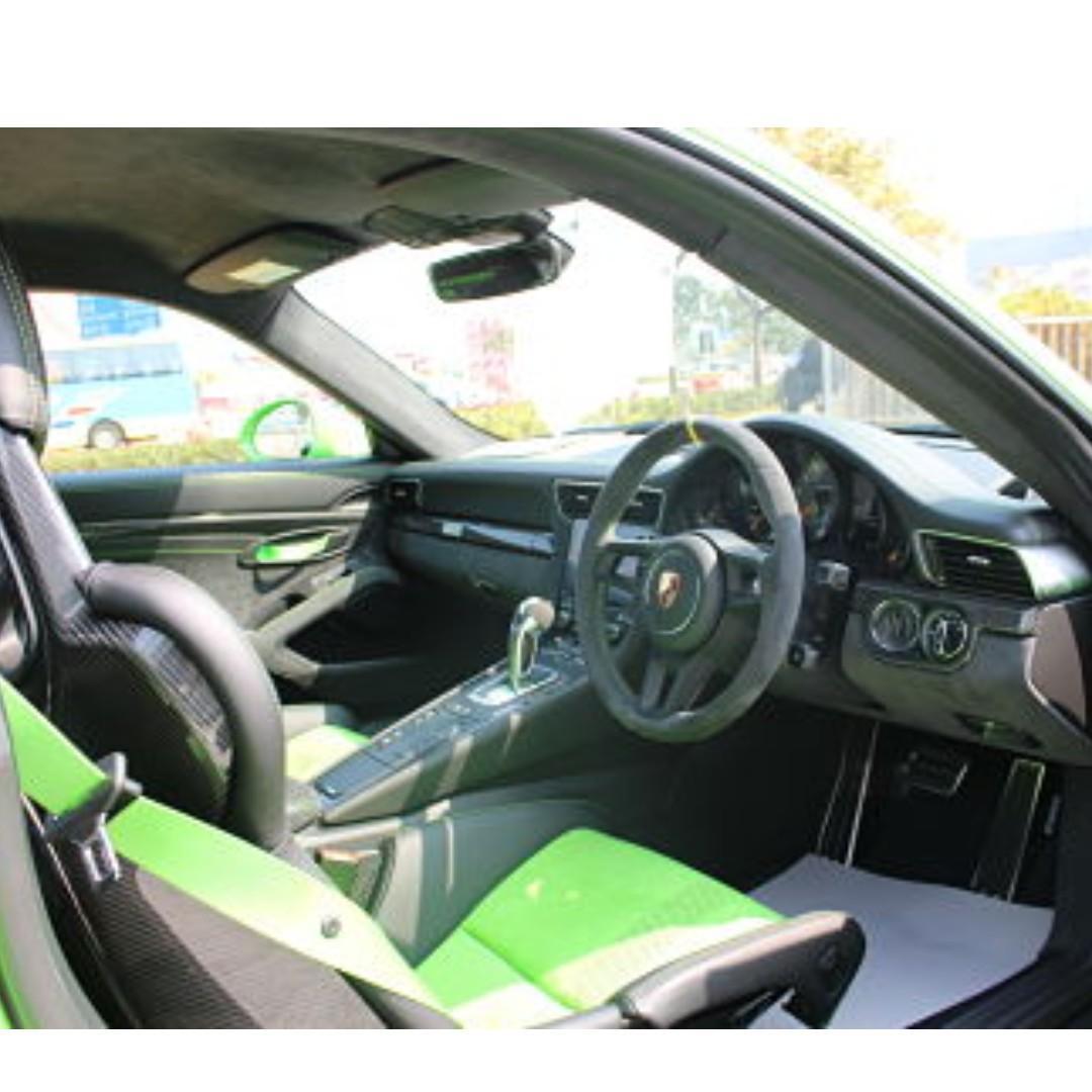 PORSCHE 991 GT3 RS 2018