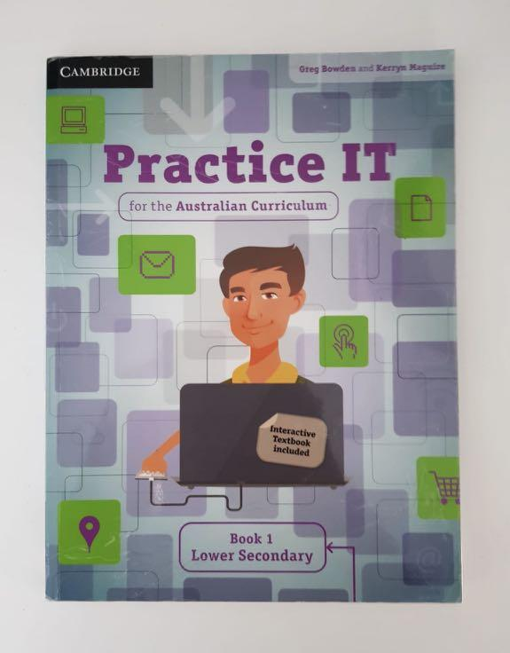 Practice IT for the Australian Curriculum Book 1 Lower Secondary+ online version
