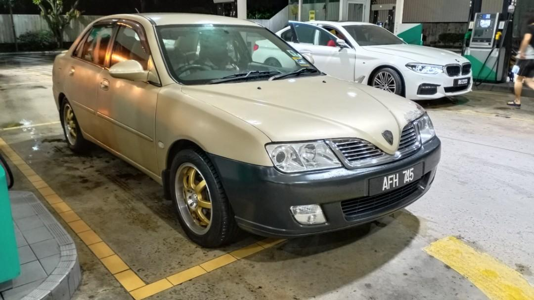 Proton Waja 1.6 [Manual] 1st model - Mitshubishi Engine