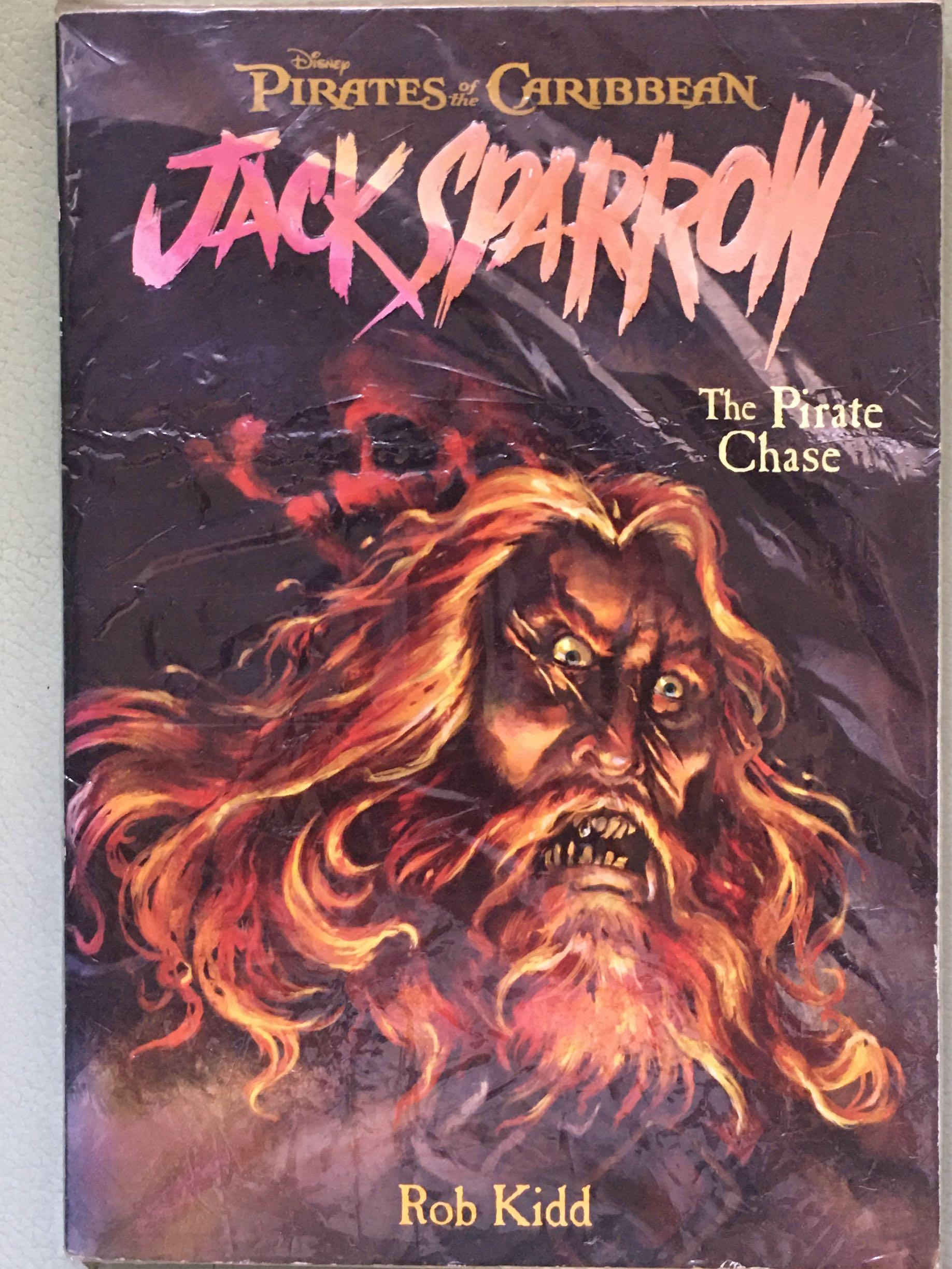 ROB KIDD_Jack Sparrow Vol. 3: The Pirate Chase_Pirates of the Caribbean