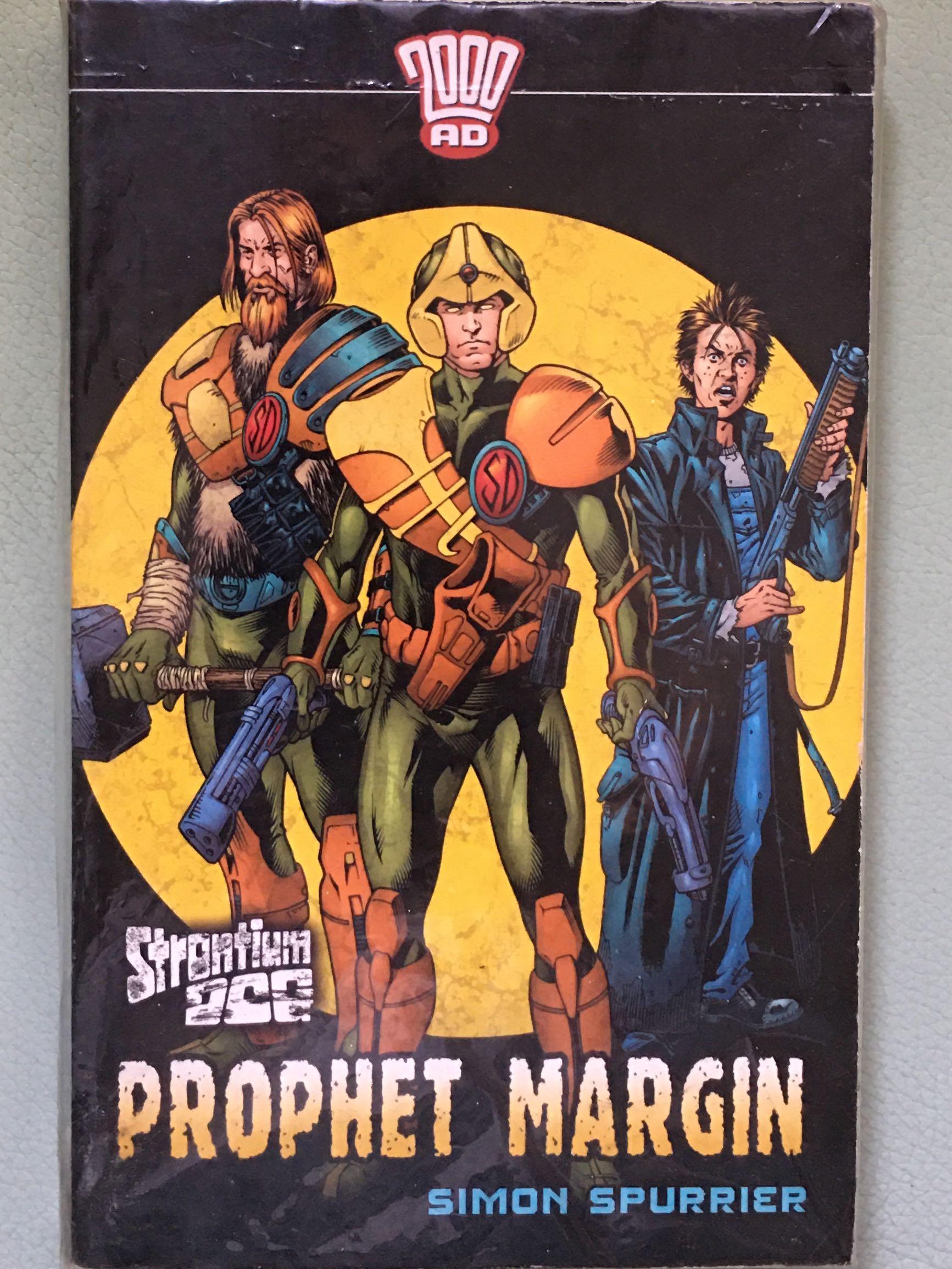 SIMON SPURRIER_Strontium Dog: PROPHET MARGIN_Original Prose novel