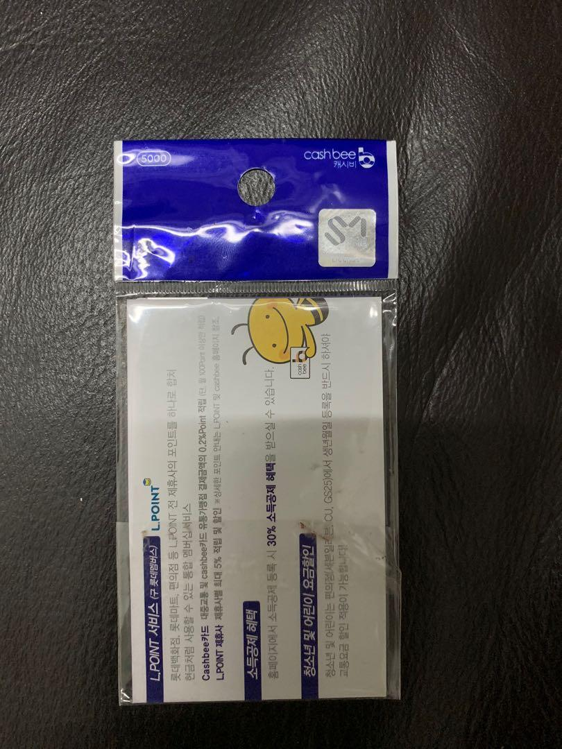 Super Junior Eunhyuk Black Suit Cashbee Card (Official) #CarousellBelanja