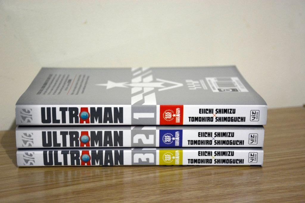Ultraman manga Volumes 1-3 by Eiichi Shimizu & Tomohiro Shimoguchi