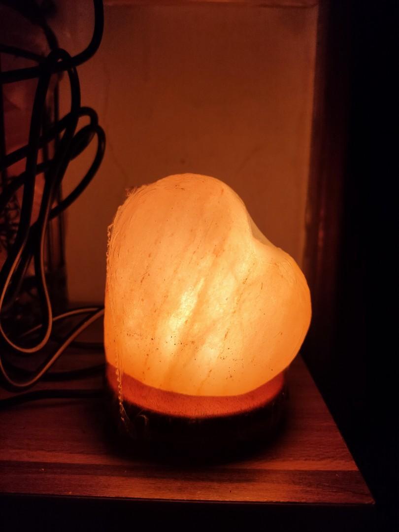 心型小鹽燈(USB)