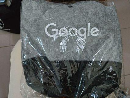 (全新)Google 環保提袋/Google環保餐袋 #換季