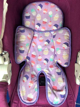 Alas Stroller / Pad Cuddle Me Cupcakes