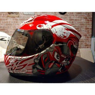 ZEUS瑞獅 全罩安全帽 ZS-801 ZS801 2000A Z13 紅色