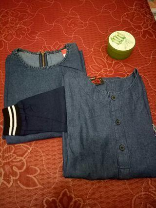 #Saleakhirtahun Gamis jeans