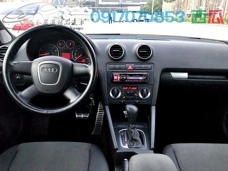 一手車僅跑13萬 內外新 2005年 AUDI A3 1.6 5D 省油省稅 可全額貸款 本人目前代步中~不急賣!