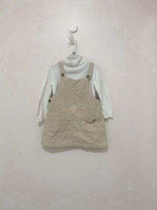 Mothercare top and zara dress