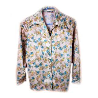 美國帶回♨️古典氣質花襯衫♨️古著 復古 古着