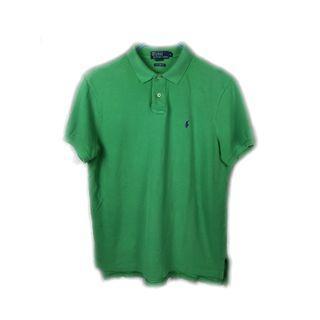 美國帶回♨️Ralph Lauren 老品綠色短袖Polo衫  ♨️ 古著 復古 二手