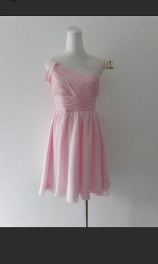 夢幻粉小禮服洋裝