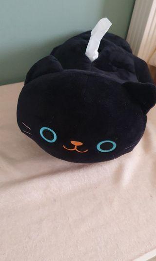 貓咪面紙盒