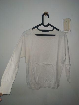 Dorothy Perkins White Sweater