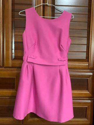 全新|正韓粉紅連身洋裝
