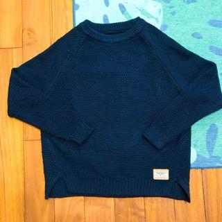 藍色質感毛衣💙 / 全新 #出清2019