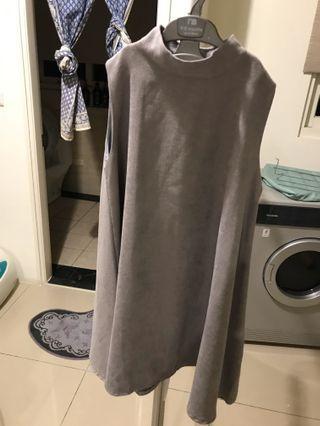 灰色氣質洋裝😍😍😍
