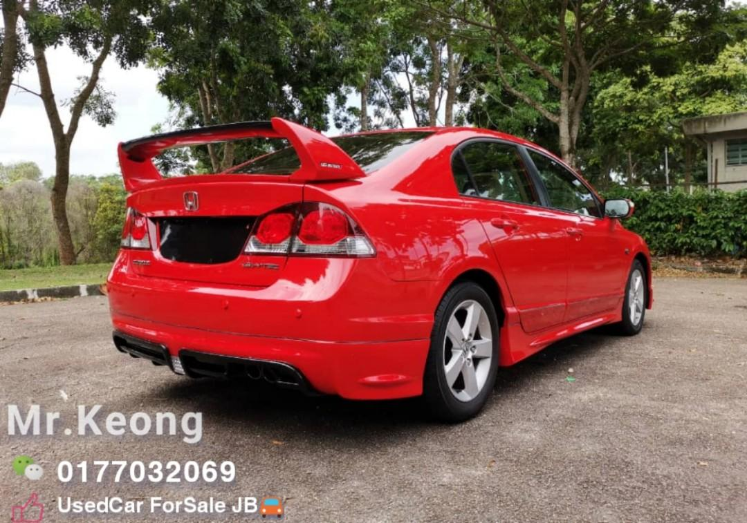 2010TH🚘HONDA CIVIC 1.8AT S i-VTEC FD FACELIFT Type R RR Bodykit Cash💰OfferPrice💲Rm46,800 Only🔥LowestPrice🔥InJB Call📲KeongFor More🤗