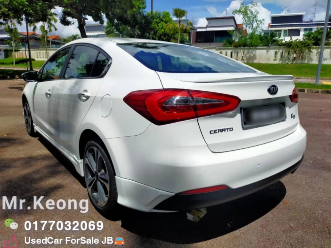 2014TH🚘Kia CERATO 1.6 YD (A) P/START/PADDLE SHIFT🎉CASH OfferPrice💲Rm46,800 Only‼LowestPrice InJB‼Interested Call📲KeongFor More🤗 WHO Fast Deal WHO Get The Car‼