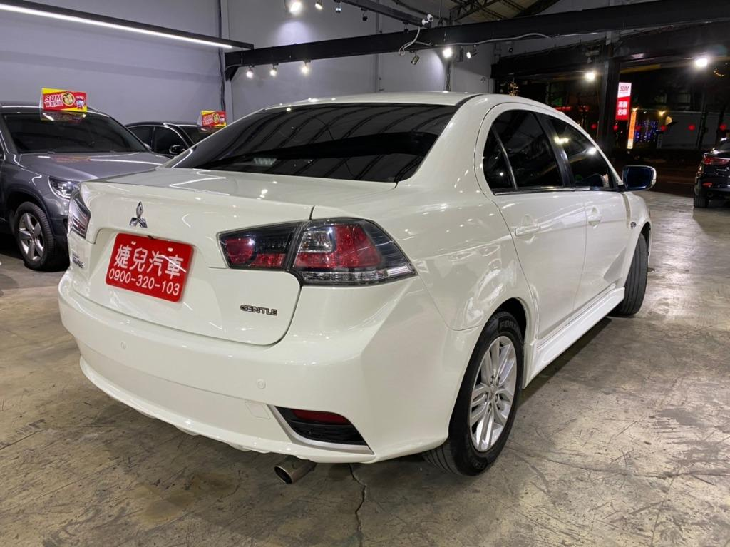 正2015年新款 Mitsubishi Lancer Fortis 1.8賽道頂級版 晶鑽白