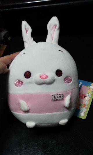 7吋填充玩偶兔小琪交換禮物
