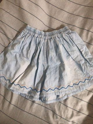 日系清新短褲