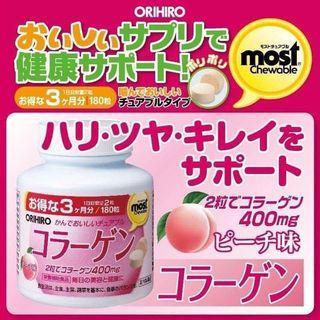 日本 ORIHIRO膠原蛋白錠(3個月份) (180粒)