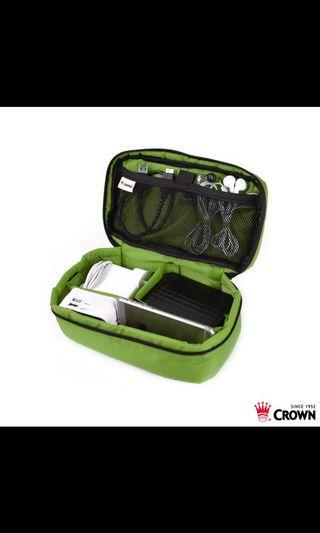 全新《旅行箱大牌CROWN 皇冠線材小工具包》綠色
