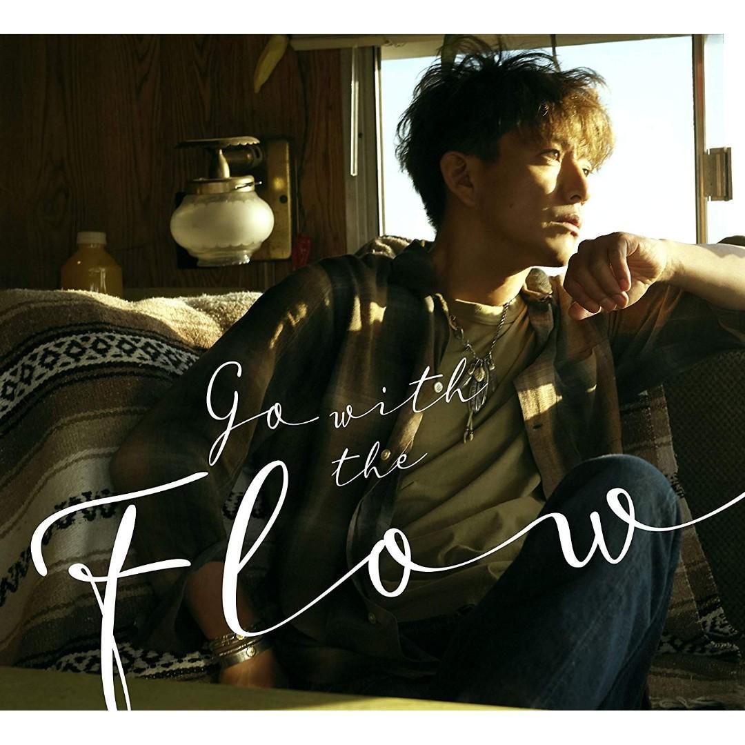 預訂 木村拓哉  Go with the Flow  初回限定盤A + 初回限定盤B CD DVD 豪華Booklet Postcard 日本版