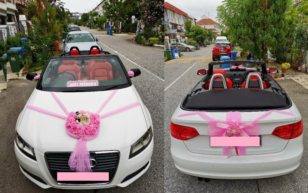 4 hours for $250 promo ! Audi 4 seater CONVERTIBLE wedding car WITH DRIVER ,