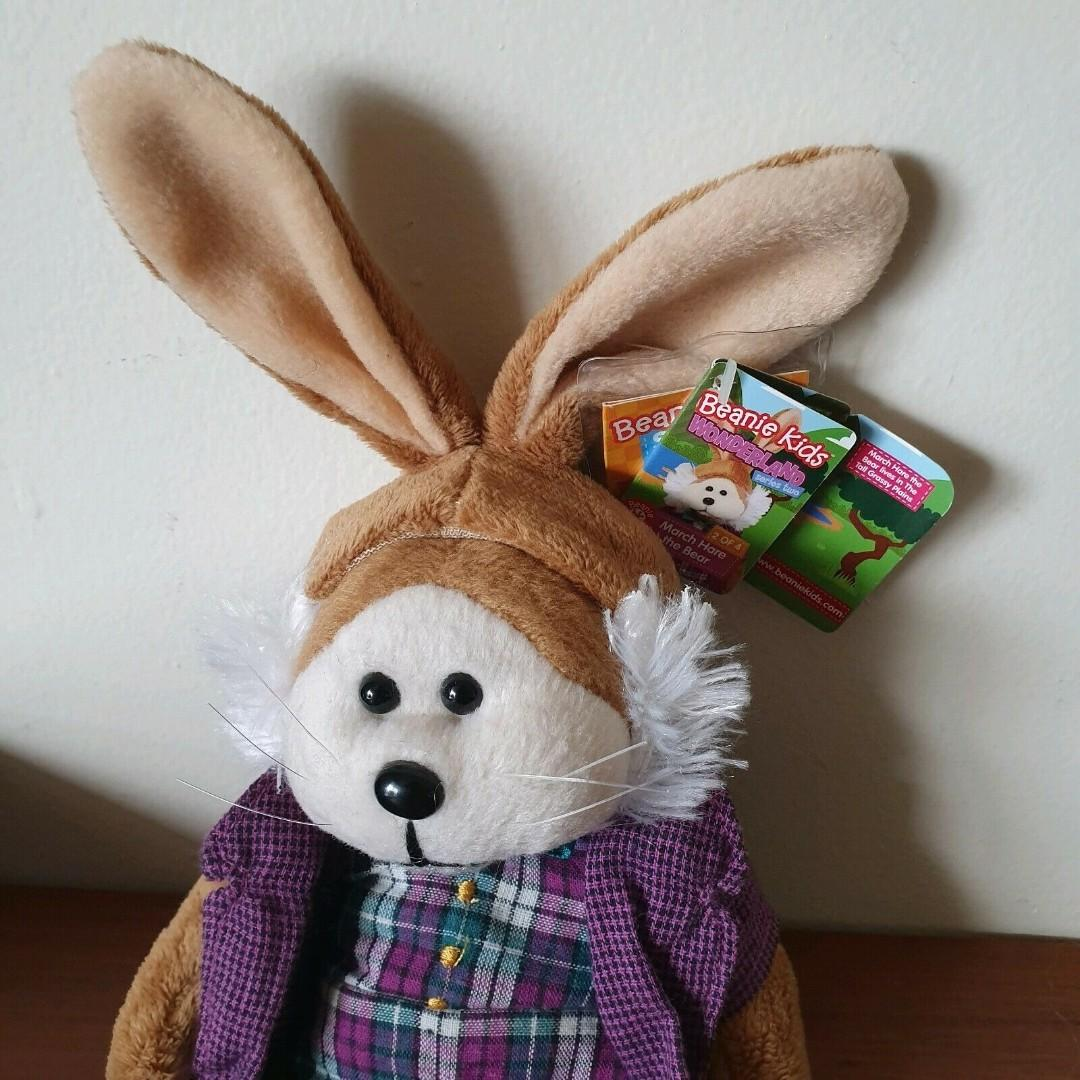 Beanie Kids Alice in Wonderland Collection March Hare the Bear