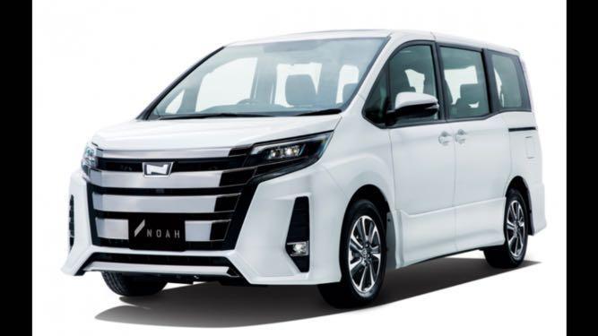Brand New Toyota Noah Hybrid