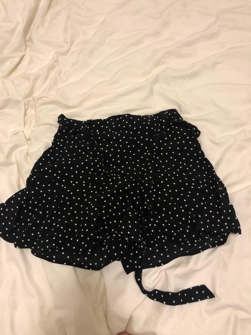 Brand new zara polka dot shorts size s women 39 s fashion - Zara home es ...