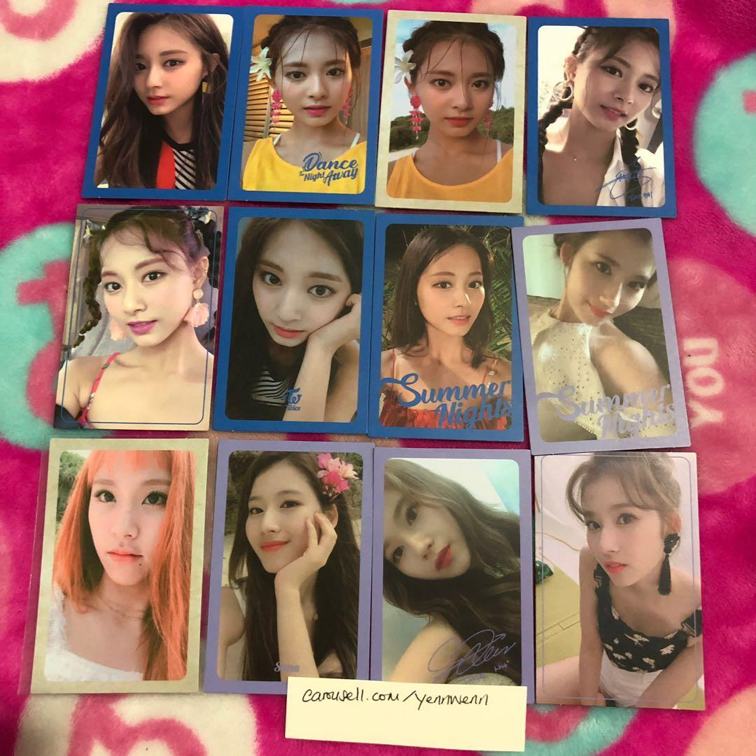 [CLEARANCE] Twice Summer Nights DTNA Official Photocards