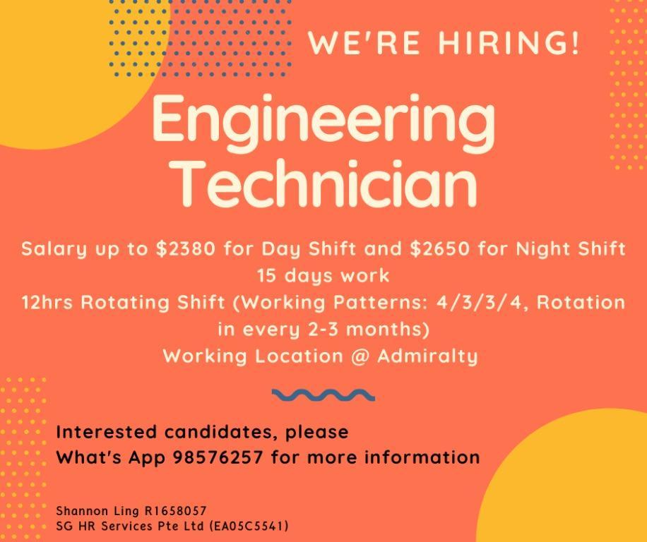 Engineering Technician @ Admiralty