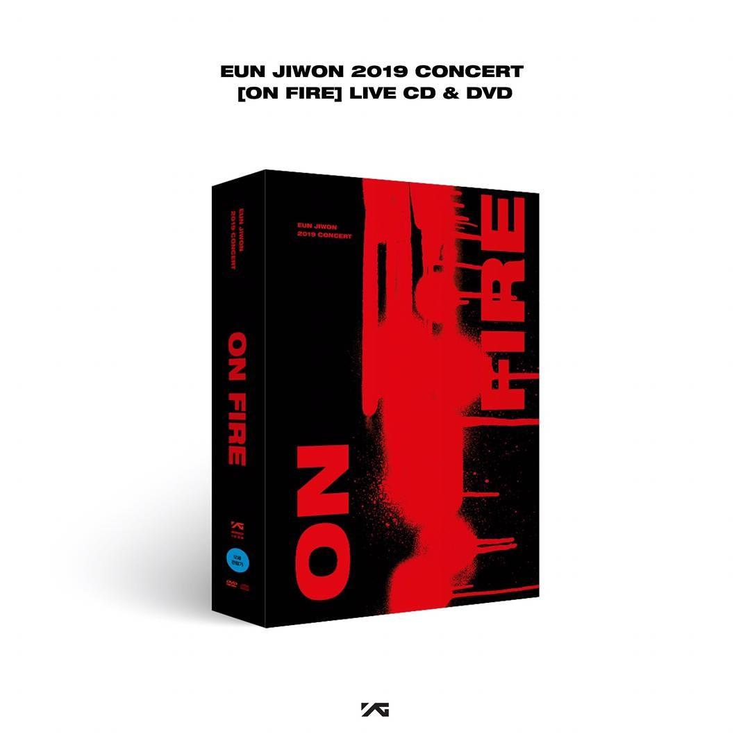 EUN JIWON - 2019 EUN JIWON CONCERT [ON FIRE] LIVE CD & DVD