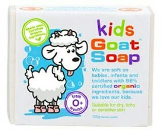 Goat's Milk Baby Cleansing Bars 100g suitable for newborn onwards
