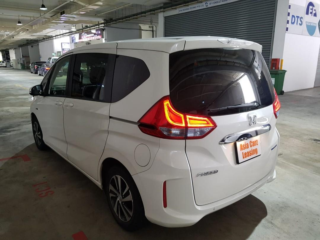 Honda freed hybrid leasing