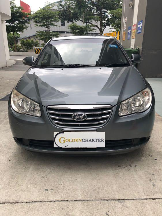Hyundai Avante For Rental Available Now! Gojek Rebate, Grab, Personal