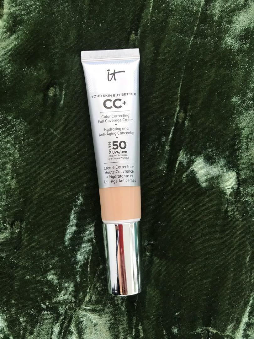 IT Cosmetics Your skin but better CC+ Cream Light Colour Foundation