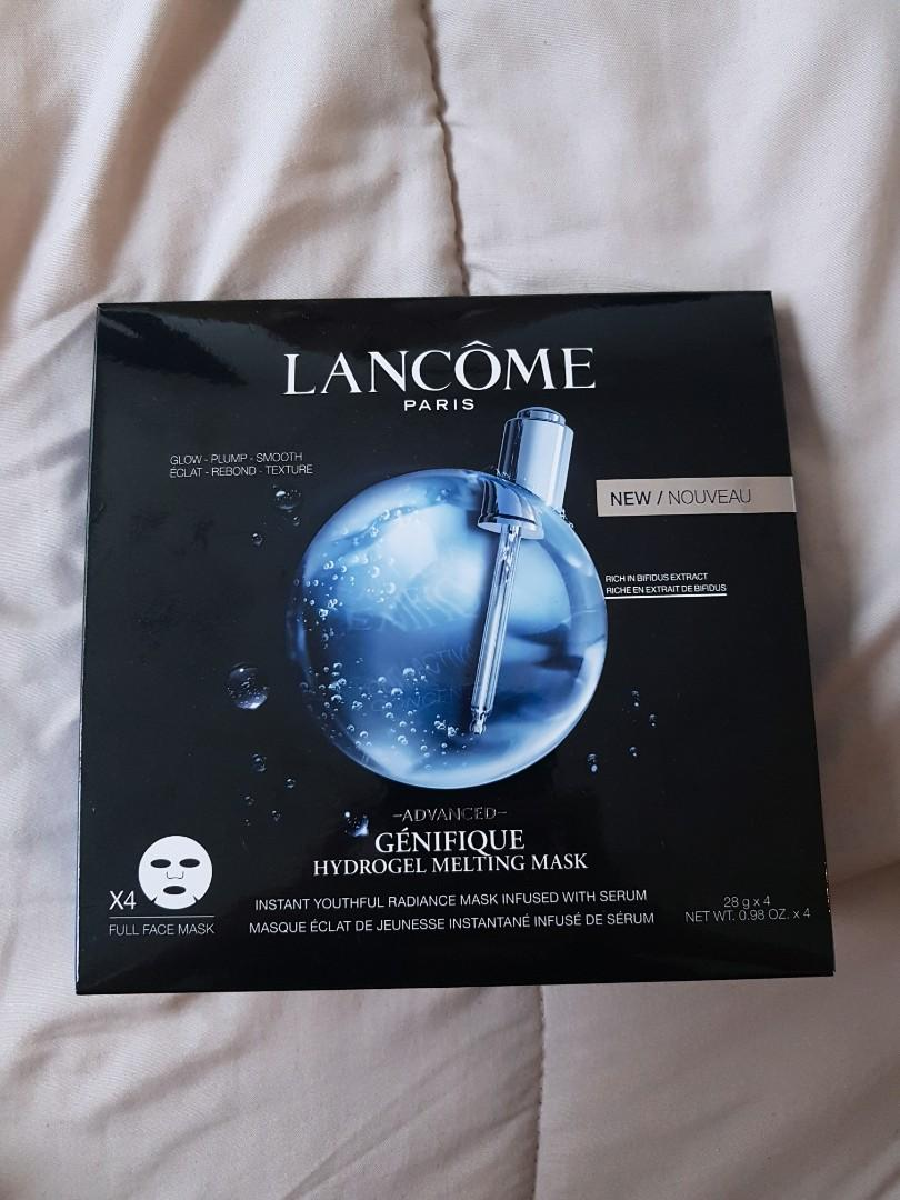 Lancome Paris Advanced Genefique Hydrogel Melting Mask