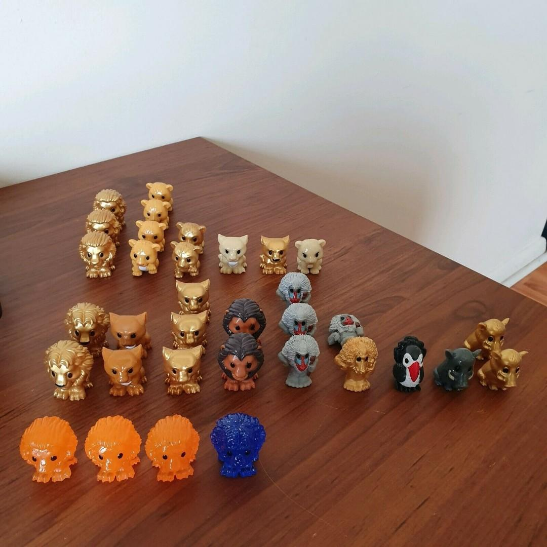 Lion King Ooshies $10 for the lot Woolies Collectibles