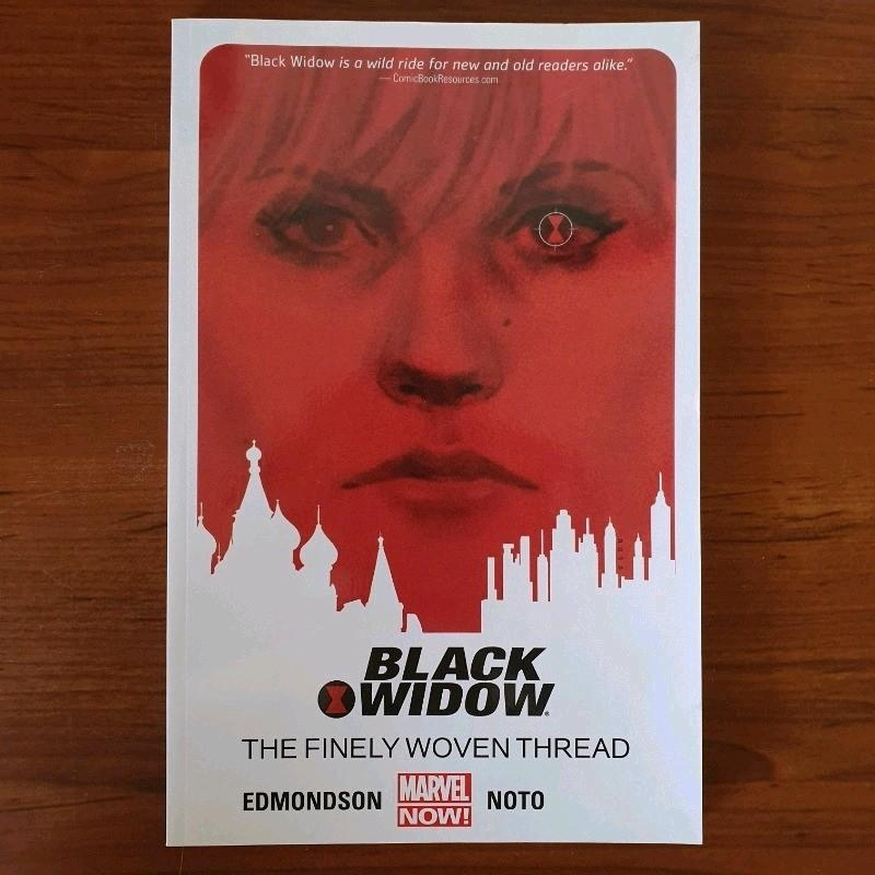 Marvel Black Widow 'The Finely Woven Thread' Vol 1