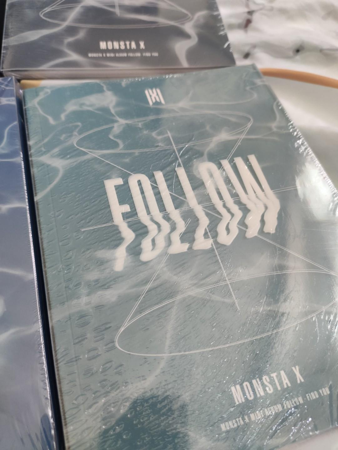 {READYSTOCK - SEALED}  MONSTA X - FOLLOW - FIND YOU 🌼Normal Version
