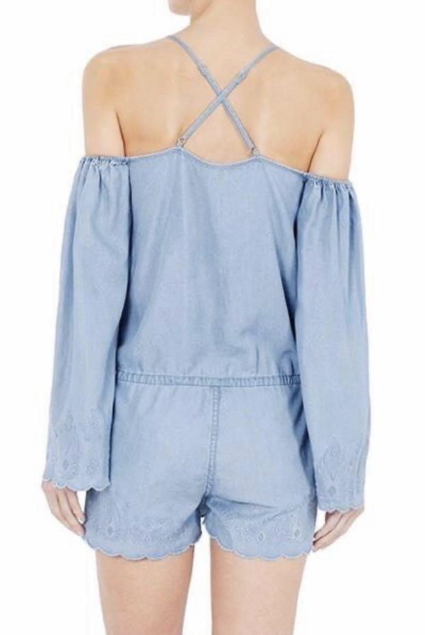 sass and bide jumpsuit/ Play suite Laugh Out Loud RRP$390 Size 10