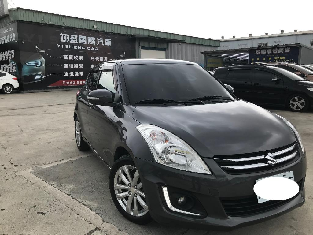 SUZUKI Swift 頂 2015 1.2L 2.5W 灰