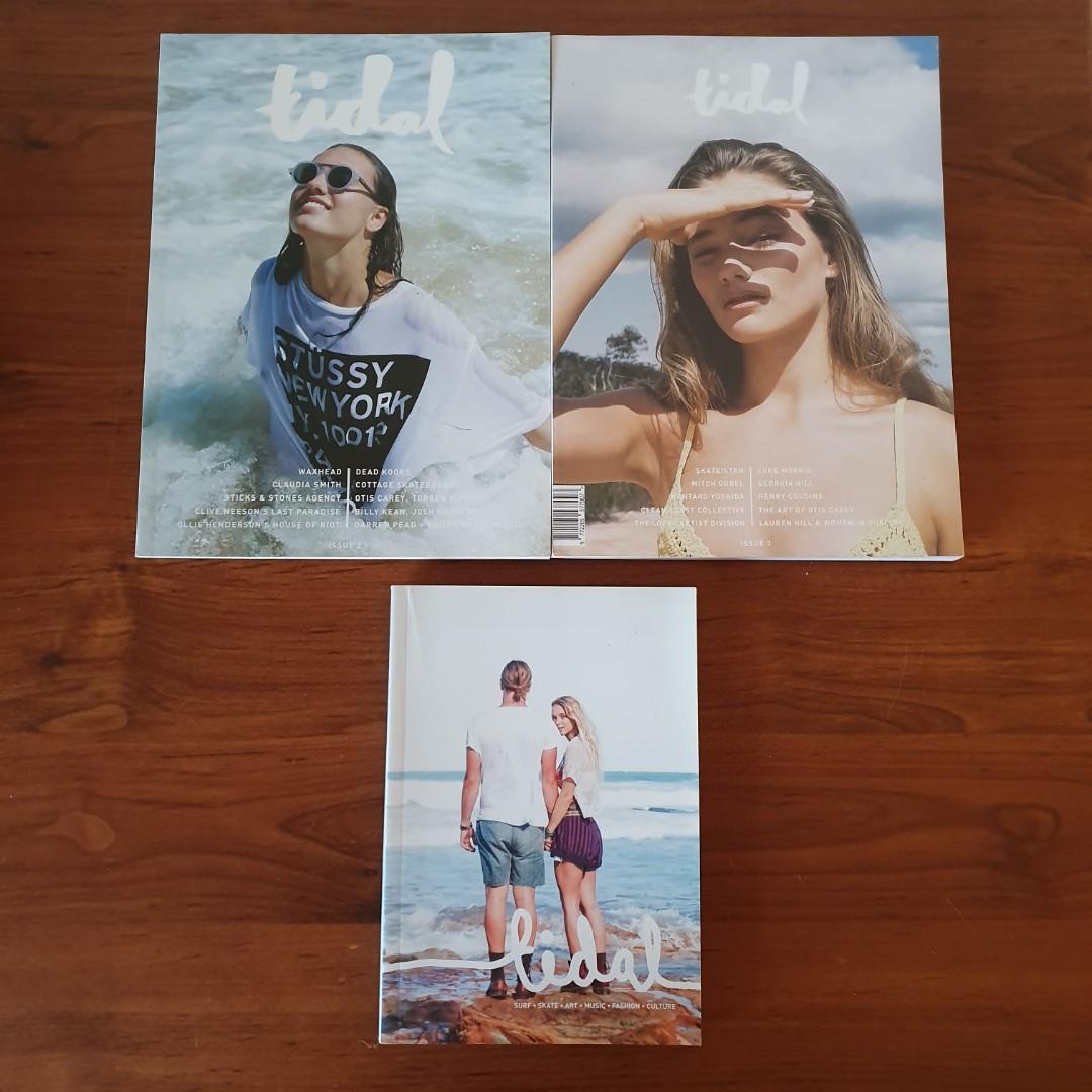 Tidal Magazine Sunshine Coast Issues 1 2 & 3 Creative Culture