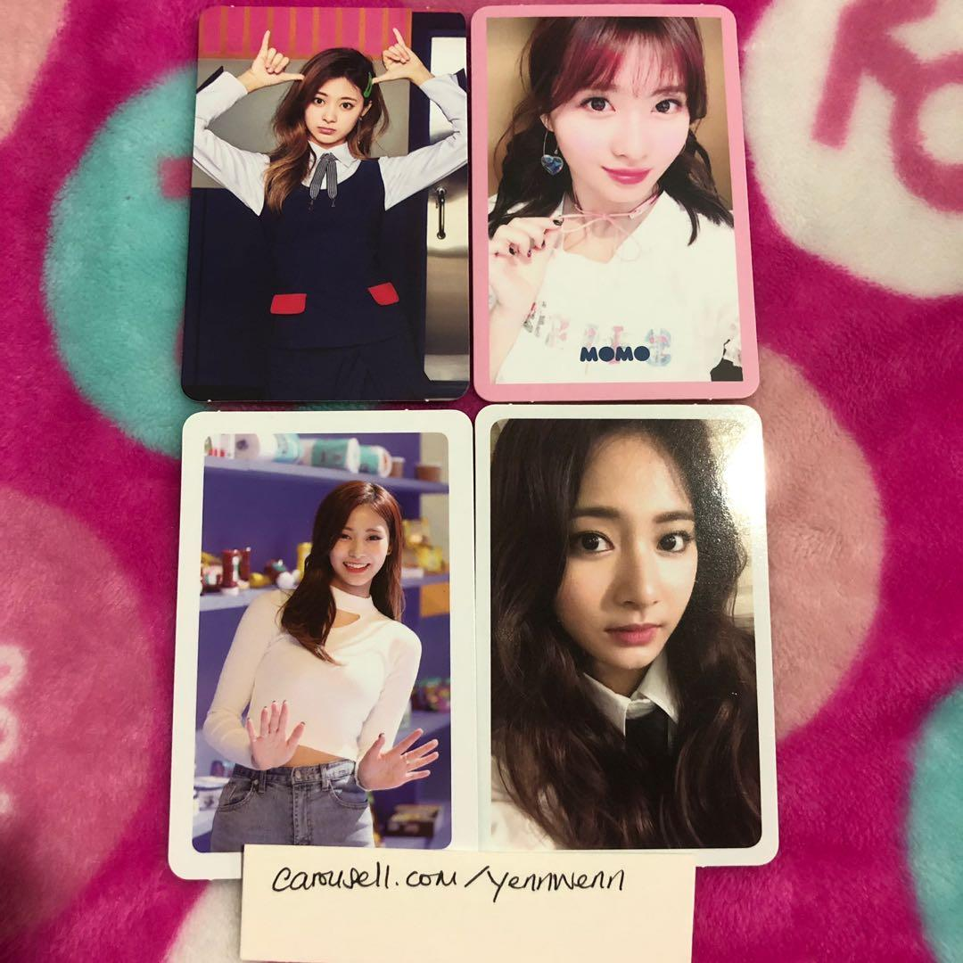 Twice Signal, Merry & Happy, Twicetagram Official Photocards